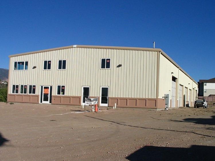 warehouse metal building