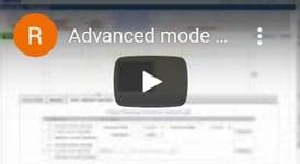 Rapidset buildings advanced mode
