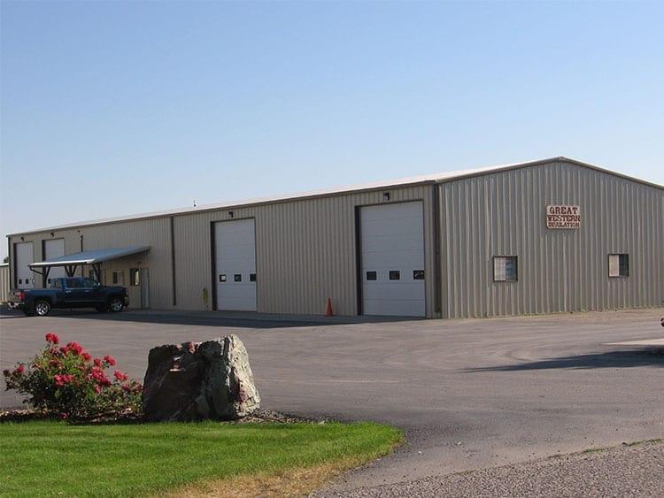Warehouse Storage Building